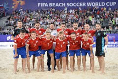 Сборная России по пляжному футболу стала трехкратным чемпионом мира
