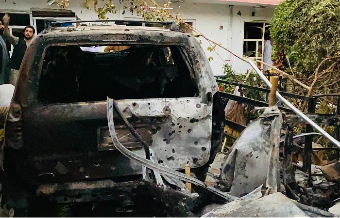В Пентагоне подтвердили удар в Кабуле по связанной с ИГ цели