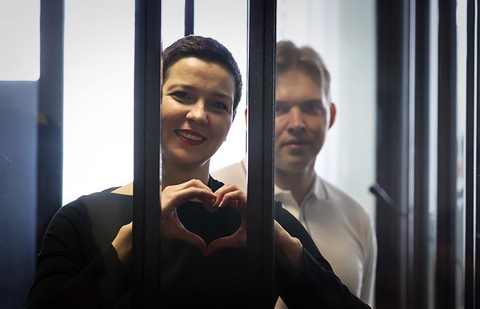 Суд в Минске вынес приговор оппозиционерам Марии Колесниковой и Максиму Знаку