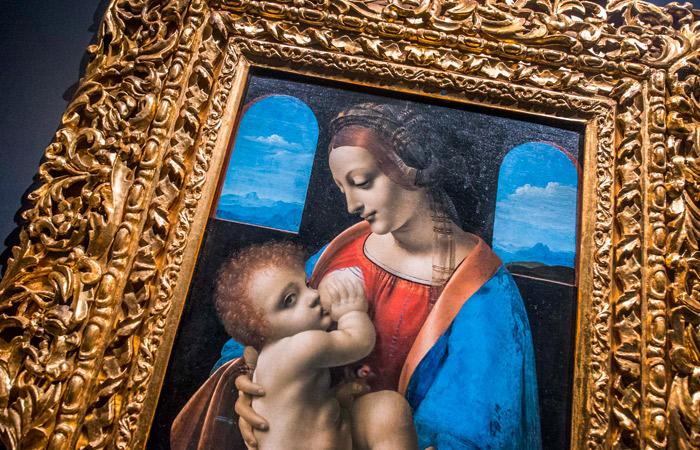 Цифровая копия картины Да Винчи из коллекции Эрмитажа продана за $150,5 тыс.