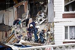 Число пострадавших от взрыва в доме в Ногинске достигло 13 человек