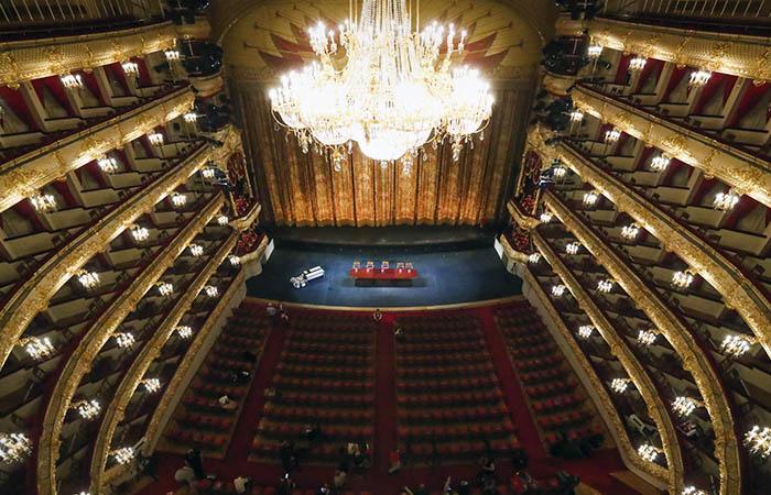 Большой театр планирует позже ввести вход по QR-кодам