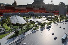 В Москве открыли центральную часть нового парка на Павелецкой площади