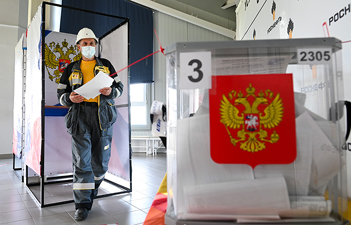 Явка на выборах в РФ в первый день голосования уже превысила 9%