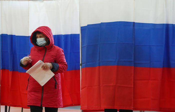 Явка на выборах в РФ на 20:00 первого дня голосования составила 16,85%