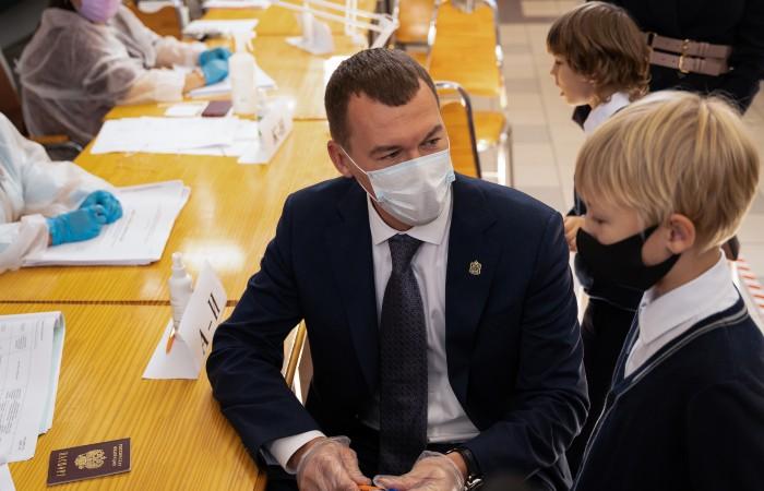 Экзит-полы ФОМ показали победу Дегтярева на выборах хабаровского губернатора