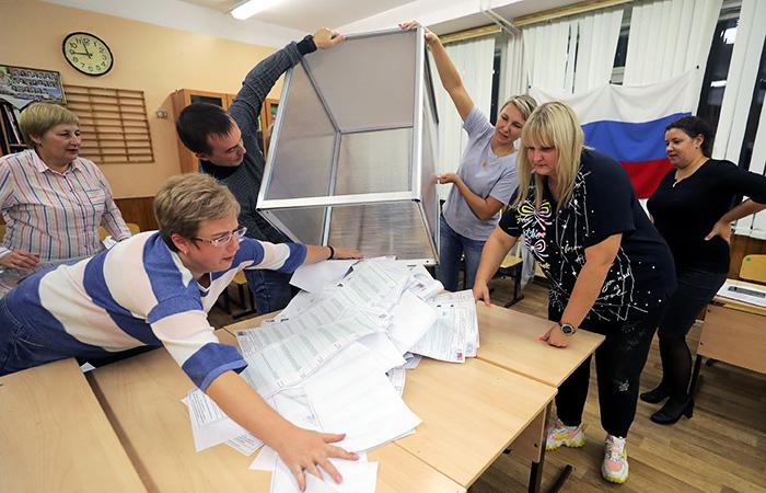 ЕР предварительно получила порядка 315 мест в парламенте