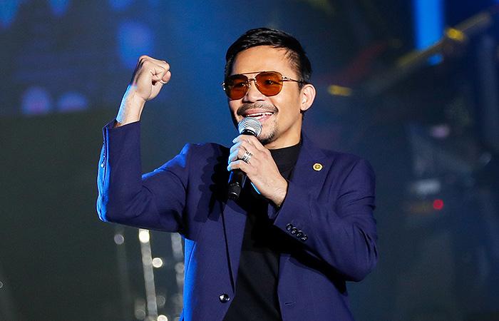 Мэнни Пакьяо будет баллотироваться в президенты Филиппин