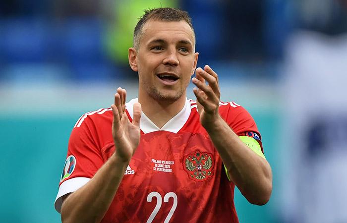 Глушаков и Дзюба вызваны в сборную России на отбор к ЧМ-2022