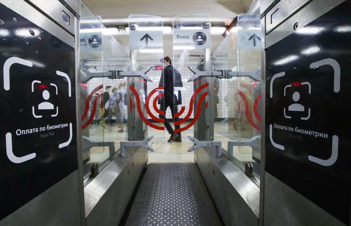 """Сервис """"оплаты лицом"""" запустили на всех линиях метро Москвы"""