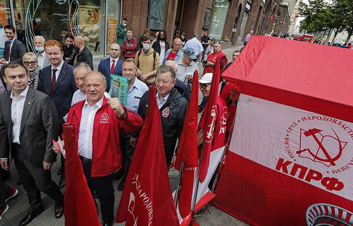 КПРФ подала заявки на проведение массовых акций в Москве