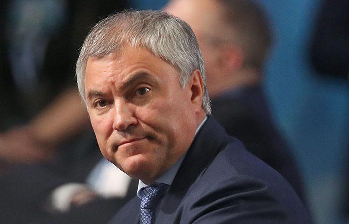 Источник сообщил, что спикером Госдумы останется Володин