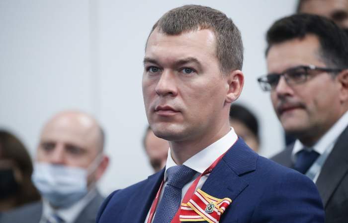 Дегтярев вступил в должность губернатора Хабаровского края