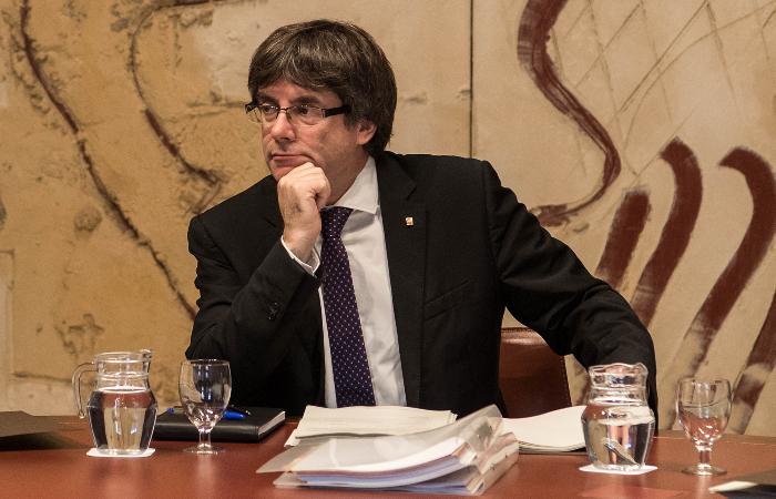 Бывшего главу Каталонии Пучдемона арестовали в Италии