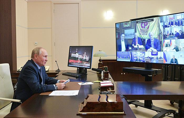 Путин заявил, что выборы в Госдуму прошли в строгом соответствии с законом
