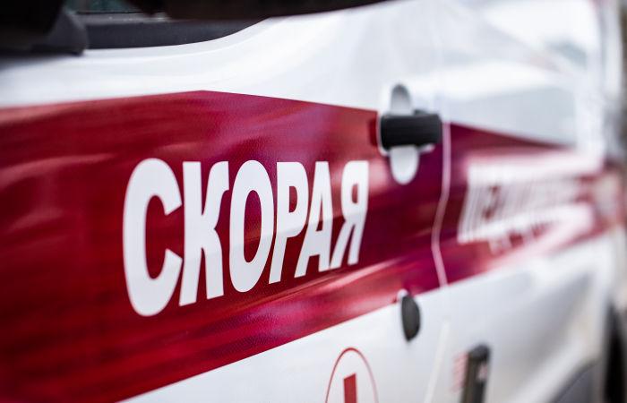 Пешеходный переход обрушился на автомобили в Пермском крае