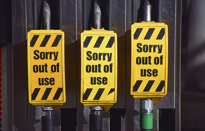 Британских военных привели в готовность для поставки топлива на АЗС