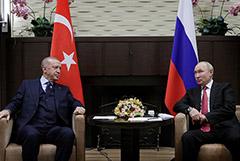 """Путин посоветовал Эрдогану ревакцинироваться """"Спутником"""""""