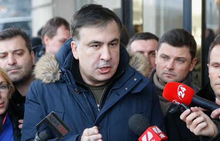 Зеленский пообещал добиваться от Грузии возвращения Саакашвили на Украину