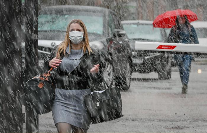 Мокрый снег с дождем ожидается в Москве