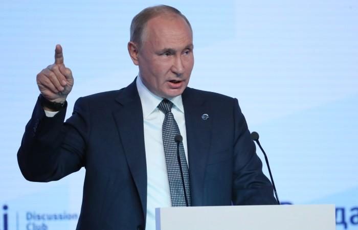 Путин счел, что проблему границы Армении и Азербайджана нельзя решить без РФ