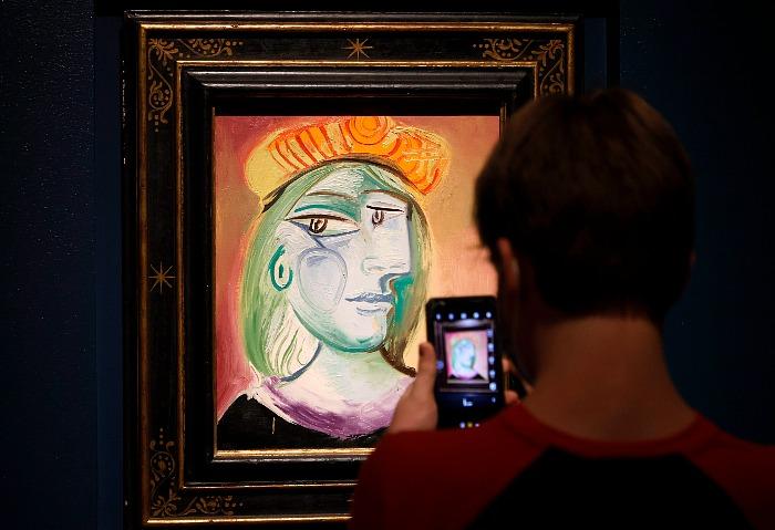 Одиннадцать работ Пикассо ушли с молотка за $110 млн