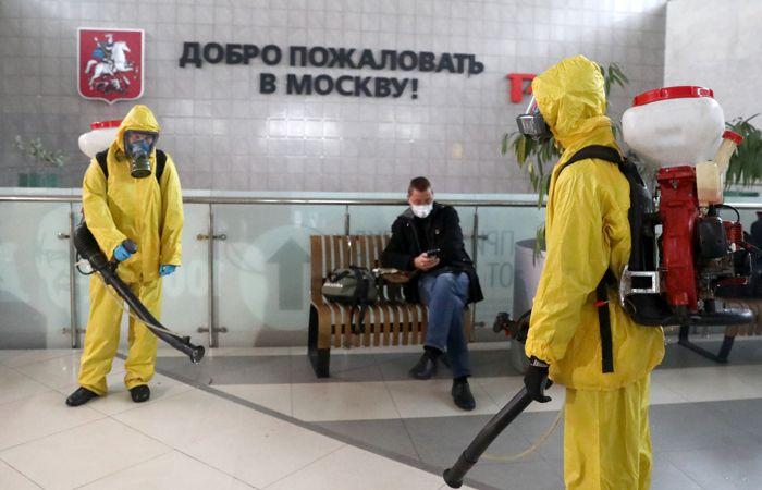 Нерабочие дни начались в Московском регионе
