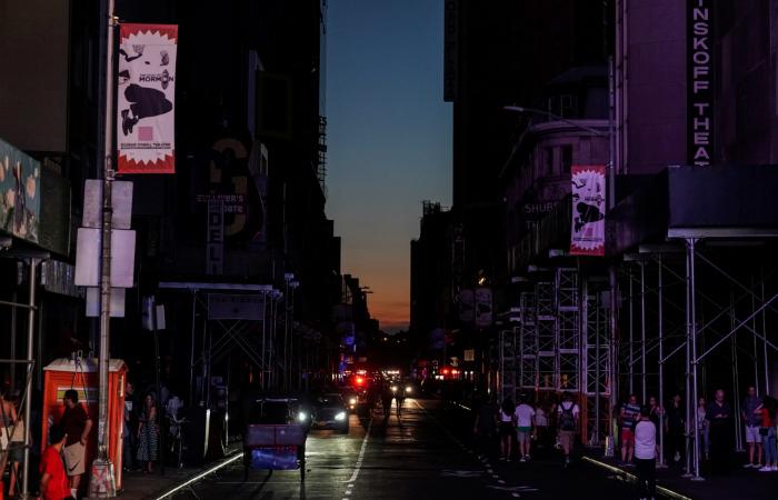 Около 45 тыс. граждан Нью-Йорка остались без света